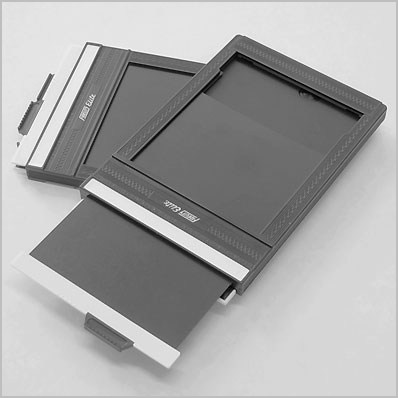 Cut-film holder