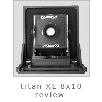Titan XL 8x10 Review